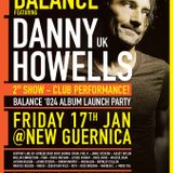 Jamie Stevens DJ set - Warm-Up for Danny Howells @ New Guernica, Melbourne, Jan 17 2014