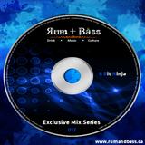 8bit Ninja - Rum + Bass Exclusive Mix Series 012 - www.rumandbass.ca