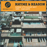 Rhyme & Reason 27th August 2017