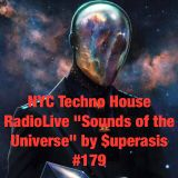 179.-SOUNDS OF THE UNIVERSE by SUPERASIS- RADIOLIVE@NYC & DETROIT LIVE SET#FEBR-25TH-2016