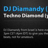 Diamandy - Techno Diamond(y) Show Eclectic Radio Episode 5 (Israeli Techno Episode)
