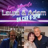 CHR Request show 7/2/17 with Adam And Laura