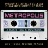 METROPOLIS (Le.IT) 1997.12.31 dj Max B - voice S. Duchessa