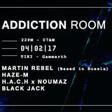 Martin Rebel LIVE @ADDICTION ROOM 04/02/2017 (TIKI GAMMARTH /TUNISIA)