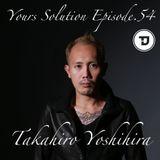 Takahiro Yoshihira. present Your Solution.Episode.No54