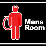 03-18-16 2pm Mens Room knows an ugly person