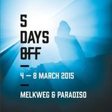 Paul Woolford  - Live At 5 Days Off 2015, Melkweg (Amsterdam) - 06-Mar-2015