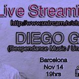 Live Streaming Dj Set: Diego Gamez