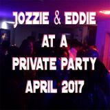 Jozzie & Eddie at a private party april 2017