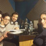 Karibu con giornalisti rifugiati Mevlude Askara (curda), Sadık Şenbaba (turco) e Murat Cinar, 5/3/16