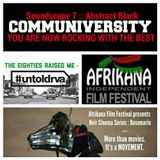 #untoldrva Soundscape 7 :: Abstract Black :: by The 80s Raised Me for Afrikana Film Festival
