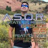A.S.O.R. [episode 58] - DJ TELSO - feat. DJ AGNI - LIVE @ PEEK DOWNTOWN (Orlando, FL)