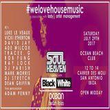 DJ Luke Le Veaux Ocean Beach Ibiza, B&W, Soul Heaven  promo CD