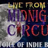 """LIVE from the Midnight Circus """"The Voice of Indie Blues"""" 1/9/207"""