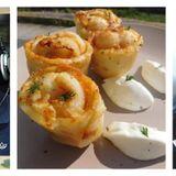 `18-2-2019-Η σεφ Κατερίνα Γονιδάκη παρουσιάζει την συνταγή της: φωλιές πατάτας με ρύζι τυριά