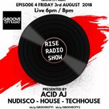 RISE RADIO 3RD AUG 2018