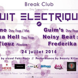 Warm-Up House Tekhouse //  Break (Montpellier) // Dirty Frogs