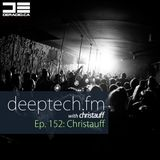 DeepTechFM 152 - Christauff (2016-10-20) [Funky Deep House & Tech House]