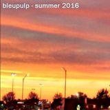 bleupulp - summer 2016