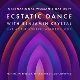 Shamanic Ecstatic Dance - Benjamin Crystal Live at The Source feat Nalini Blossom & Friends