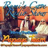 Rumi's Cave Radio Show with the Papaya Team 29.07.15