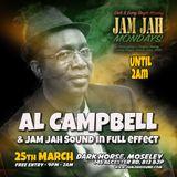Al Campbell live at Jam Jah Mondays