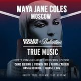 Maya Jane Coles @ Boiler Room & Ballantine's present True Music Russia (Moscow, RUS) - 09.02.2017