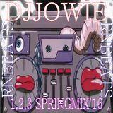 Jowie's 1,2,3 lentespringmix'16