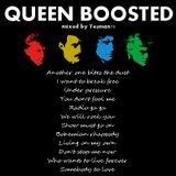 QUEEN BOOSTED (Freddie Mercury,Brian May,john Deacon,Mike Grose,Roger Taylor,Doug Bogie,David Bowie)