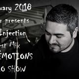 RAVE EMOTIONS RADIO SHOW (13RaVeR) - 24.01.2018. Audio Injection Guest Mix @ RAVE EMOTIONS