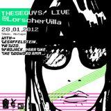 TheseGuys! 50min from 2hours Live@LorscherVilla 28.01.2012