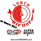 Lunch & Hip Hop feat Dana Dane & Rakim by Dj Silver Knight