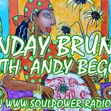 SUNDAY BRUNCH WITH ANDY BEGGS JUNE 16TH 2019