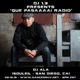 DJ ALA on Dancegruv Radio (19-August-2016)