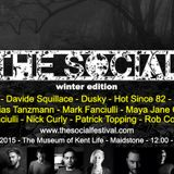 Hot Since 82 - The Social 2015, Winter Edition (UK) - 28-Feb-2015