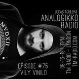 ANALOGIKKO RADIO BY LUCAS AGUILERA - VILY VINILO - TM RADIO - Episode 075