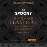 DJ Spoony & PSG  - 1st Live stream celebrating the release of 'Garage Classical' tickets.