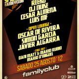 Cesar Almena - Podcast to FamilyClub (Aug 2012)