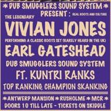 Earl Gateshead, Vivian Jones and Dub Smugglers LIVE 27th March 2015