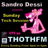 Sandro Dessì  Sunday Tech Session live on ThothFm