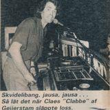 Rakt över disc me' Clabbe - 1979-06-15 - Urpremiär