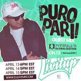 Sirius Xm Puro Pari Mix on Pitbull's Globalization by DJ Livitup