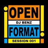 "DJ BENZ present ""OPEN FORMAT SESSION 001"" (live at Mixx , Intercontinental Hotel , Bkk. , Thailand)"