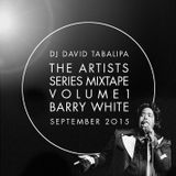 The Artists Series Mixtape Vol. 1 - Barry White - September 2015