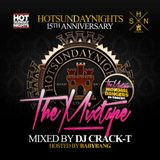 15 YEARS OF HOT SUNDAY NIGHTS MIXED BY CRACK-T & HOSTED BABYBANG