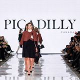 Runway mix for David Dixon's Picadilly Collection