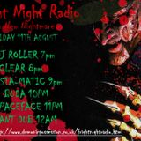 Dj Roller Fright Night Radio Debut 11-08-2017
