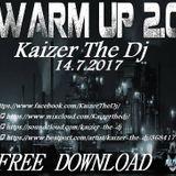 Rind radio 14.7.2017 Warm Up show#41