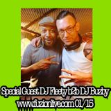 SPECIAL GUEST DJ FLEETY ON DJ BUZBY'S HOUSE FOUNDATION SHOW 29-01-15