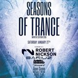 Robert Nickson – Live at Season Of Trance Winter Edition Oslo, Norway (27-01-2018)